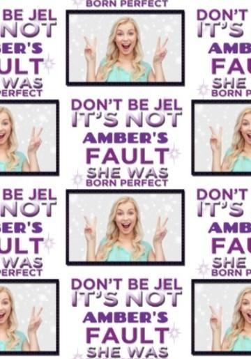 Photo Upload Dont Be Jel Born Perfect Towie Birthday Card